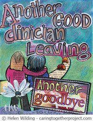 Saying goodbye when clinicians leave